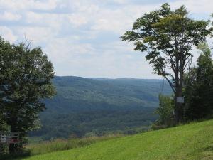 Our hike's destination